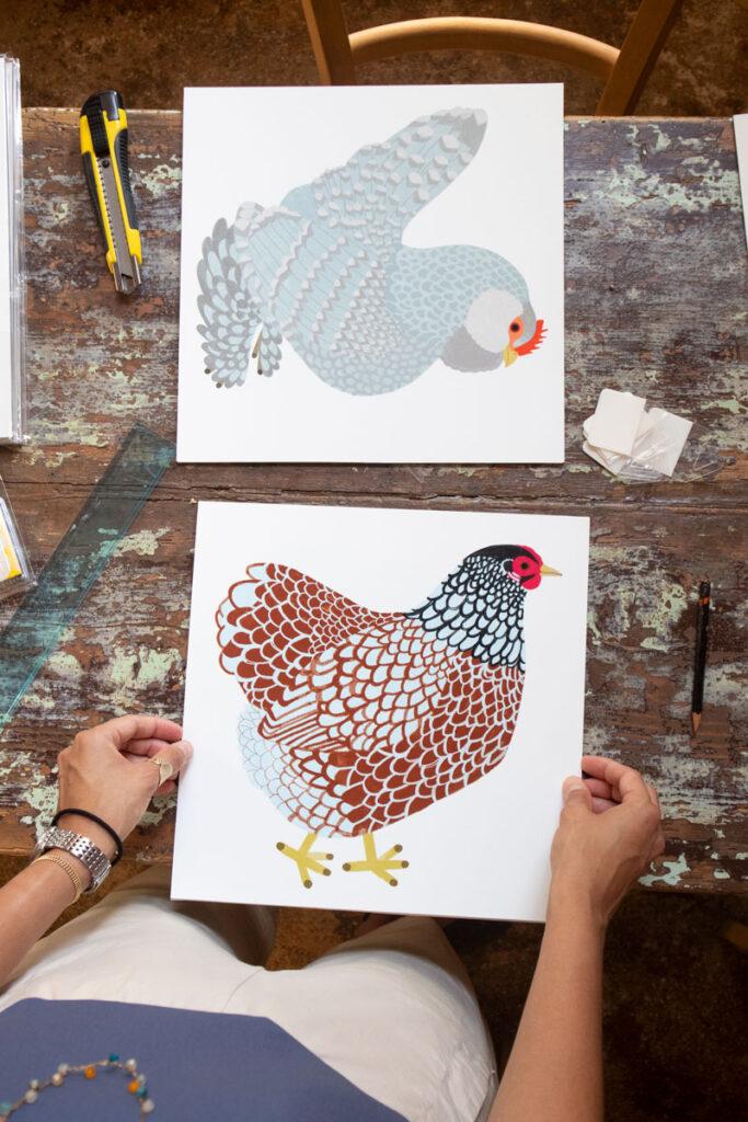 sullaluna libreria a Venezia Illustrazioni di Camilla Pintonato