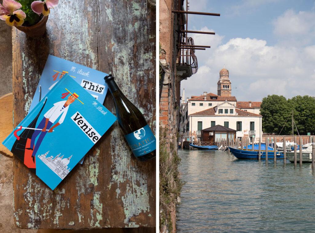 sullaluna libreria & bistrot vegetariano a Venezia