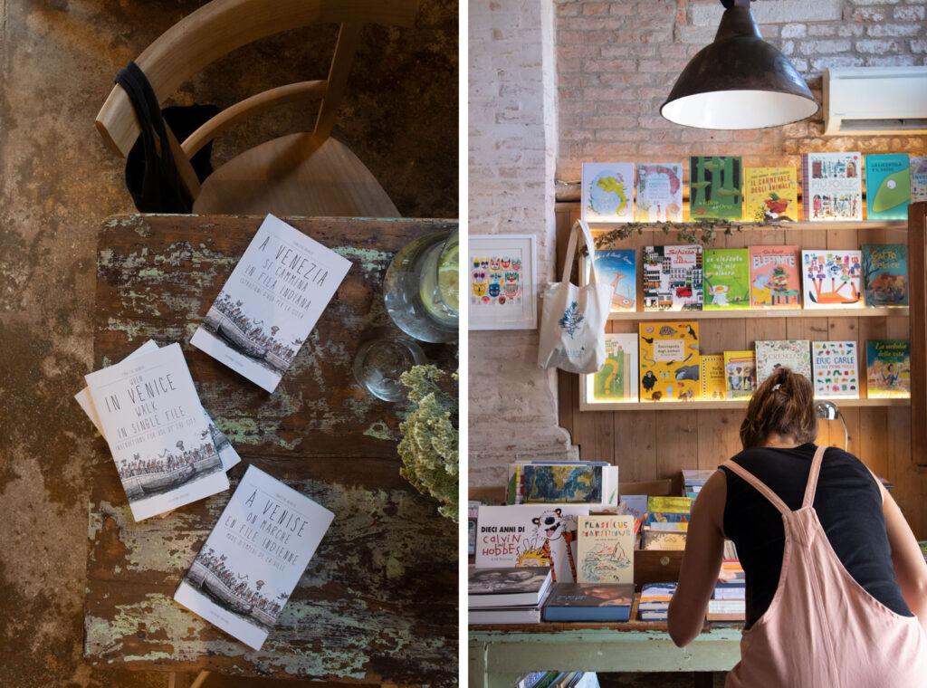 sullaluna libreria a Venezia